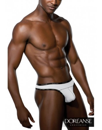 Doreanse Mens Mini Thong White