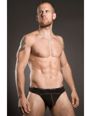 Doreanse Mens Mini Thong Black