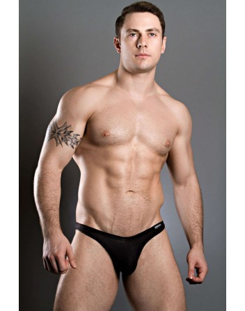 Doreanse Mens Thong Basic Soft Black